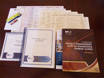 Forward Momentum PMI®-certified training course materials